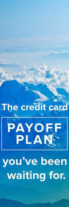 You refinance your mortgage, so why not your credit card payments? With Payoff, you have bank-level security without the bank attitude. Apply now!  http://www.payoff.com/?utm_source=pinterest&utm_medium=psocial&utm_campaign=1506_socPIN&utm_content=26.11P