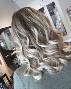 Ice blonde balayage by Salon Gardenia