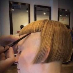 Give me that bowl cut but change the bowl halfway through Shaved Undercut, Shaved Hair, Teen Boy Hairstyles, Cool Hairstyles, Short Hair Cuts For Women, Short Hair Styles, Pixie Styles, Haircut Funny, Bowl Haircuts