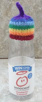 Innocent Smoothies Big Knit Hats - Rainbow
