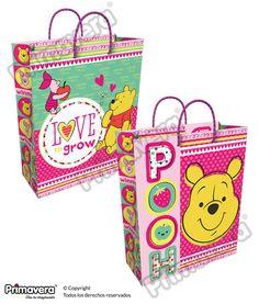 Bolsa Regalo Winnie Pooh http://envoltura.papelesprimavera.com/product/bolsa-regalo-personajes-winnie-pooh/