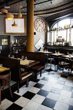 L'Osteria del Tempo Perso. Osteria means Tavern or Inn, del tempo perso opened in Rome in 1861, it became a piece of Italian history. Edinburgh, Scotland.