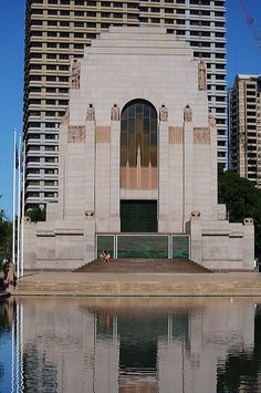 #ANZAC Memorial, Art Deco...