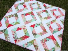 Fresh Diamonds Quilt - Tutorial