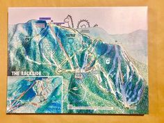 "SKI BRECKENRIDGE COLORADO 5/"" Sticker Decal Skiing Snowboard Mountains bonus"