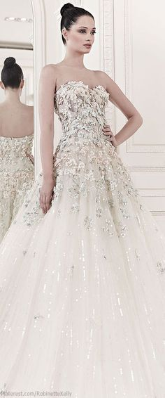 Zuhair Murad Bridal | S/S 2014 Stunning Wedding Dress! #wedding #weddingdress #bride