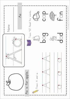 FREE Alphabet BUNDLE SAMPLER. A fantastic resource for Preschool and Kindergarten.