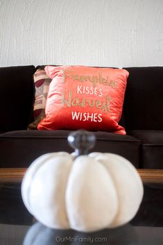 Our new apartment finally feels like home! Check out how Adam and I styled our new space with a different interior design, our partnership with Mor Furniture, and some news about what we hope the future brings! Perfect Image, Perfect Photo, Love Photos, Cool Pictures, Fall Decor, Pumpkin, Chocolate, Feels, Family Apartment