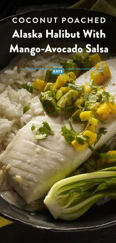 Halibut Recipes, Fish Recipes, Seafood Recipes, Cooking Recipes, Fish Dinner, Seafood Dinner, Easy Delicious Recipes, Healthy Recipes, Fish Boil