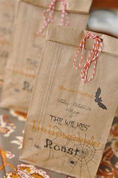Halloweenie Roast Invitations and Printer Giveaway