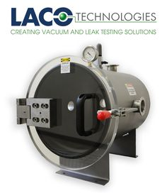 """LVC1218-3112-HI 12"""" X 18"""" HI VACUUM CHAMBER - LACO's Horizontal HI Vacuum Chamber can easily be customized for your application needs. Our stainless steel 12"""" diameter x 18"""" long vacuum chamber. http://www.lacotech.com/vacuumchambers/stainlesssteelfrontloadingcylindricalchambers/stainlesssteelfrontloadingcylindricalchambers+horizontalindustrialvacuumchambers+lvc1218-3112-hi.aspx"""