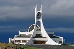 Church at Stykkishólmur - West Iceland