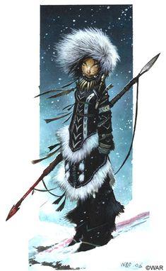 Arctic Hunter by Wayne Reynolds - Imgur