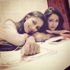 krissann barretto and veebha anand