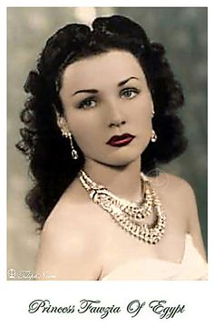 Princess Fawzia Of Egypt (A) - Got Colored by Tulipe Noire, via Flickr ...