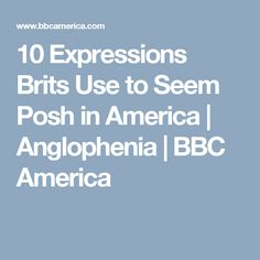 Years after Beatlemania, Duran Duran hysteria, and Britpop spread Union Jack fever around the globe, music remains one of Britain's most lucrative exports. British English, Old English, English Insults, J Crew Catalog, British Spelling, British People, Bbc America, The Dark World, Image Caption