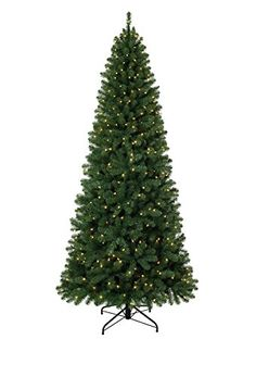 Christmas Tree Market Emerald Fir Artificial Christmas Tree 9 Feet Clear Lights >>> More info could be found at the image url.