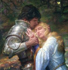 Lancelot and Guinevere by Donato Giancola
