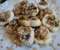 Bratapfelplätzchen - Kekse Sweet Cookies, Cake Cookies, Fabulous Foods, Four, No Bake Cake, Biscotti, Doughnut, Cookie Recipes, Buffet
