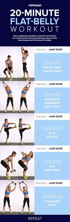 20 Minute Flat-Belly Workout