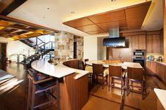 Martis Camp Estate Truckee - transitional - kitchen - other metro - Greenwood Homes