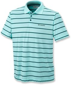 Columbia Male Utilizer Stripe Polo Shirt - Men's