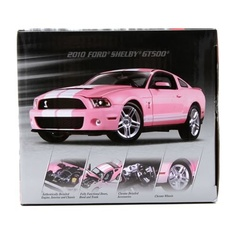 A PINK Shelby gt500. EEEE! #Cars #Speed #HotRod