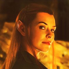 Tauriel - she& so beautiful, and I don& care what others are doing, but until I watch Evangeline& performance, I will not hate on her just because she& new. Legolas And Tauriel, Thranduil, Kili, Elfa, O Hobbit, Evangeline Lilly, Middle Earth, Lord Of The Rings, Tolkien