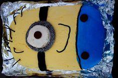 Minions party - Minions birthday cake