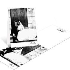 Photo Wedding Thank You Cards -- Timeless Ever After  #peartreegreetings #weddingthankyoucards #weddingideas