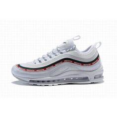 dae97b7822a Nike Air Max 97 White Red Green Sale #CheapNikeAirMax Air Max Sneakers,  Sneakers Nike