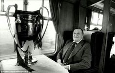 Bob Paisley with the European Cup
