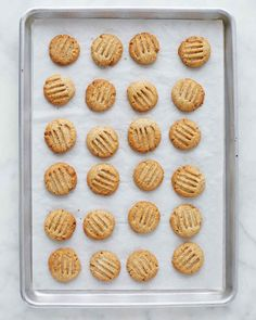 The deep hazelnut flavor and buttery goodness of these cookies belie their simplicity. With just five ingredients, these are some of the easiest cookies to make. Martha made this recipe on episode 704 of Martha Bakes.