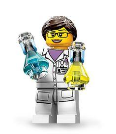 Femme scientifique!  Love.
