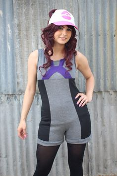 BLACK Pokemon GO ROMPER Jumper Trainer Cosplay Costume Jumpsuit Hoodie Jacket by SixOnClothing on Etsy https://www.etsy.com/listing/468855543/black-pokemon-go-romper-jumper-trainer