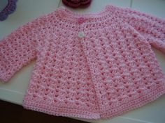 In The Pink Baby Crochet Top
