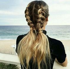 via weheartit @Yseult Delcroix - Image de hair, girl, and hairstyle
