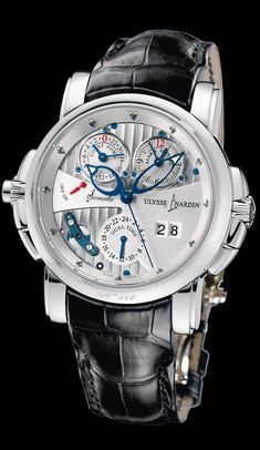 Ulysse Nardin Sonata Cathedral Dual Time.  B. Young & Co.  Luxury Timepieces and Jewelry.  byoungco.com  https://www.facebook.com/BYoungCo  john@byoungco.com