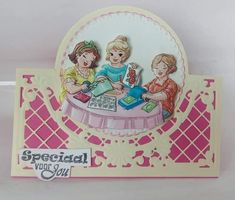Abraham And Sarah, 3d Cards, Marianne Design, Big Guys, Scrapbooking, S Girls, Girl Humor, Bubbles, Lunch Box