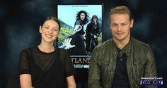 Interview: Caitriona Balfe and Sam Heughan (Outlander)   Sidewalks Entertainment