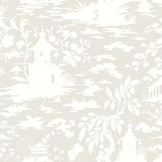 China Village - Tone on Tone Wallpaper [CHIN-610] : Designer Walls and Fabrics, Specialty Wallpaper for Home or Office
