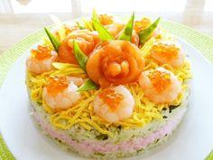 Sushi Cake #2♪