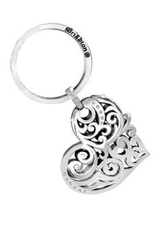 4 pcs Letter O Fob Charms Sterling Silver Plated