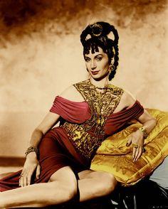 """Patricia Laffan in """"Quo Vadis"""" (1951)"""