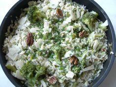 Risotto aux brocolis et noix de pécan