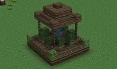 Minecraft DIY Crafts & Party Ideas 36 - Minecraft World Minecraft Decorations, Minecraft Crafts, Minecraft Designs, Minecraft Party, Minecraft Fountain, Minecraft Garden, Minecraft Small House, Minecraft Statues, Plans Minecraft