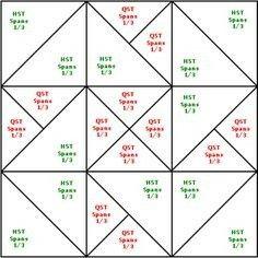 card trick Quilt | Card Trick Quilt Pattern Template http://www ... : card trick quilt block - Adamdwight.com