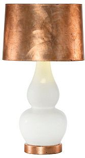 Olympia Table Lamp, Rose Gold