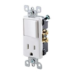 5625-W > Decora® Combination Devices > Combination Devices > Electrical Wiring Devices > Products from Leviton Electrical and Ele...