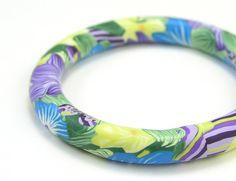Hawaiian Song flower bangle